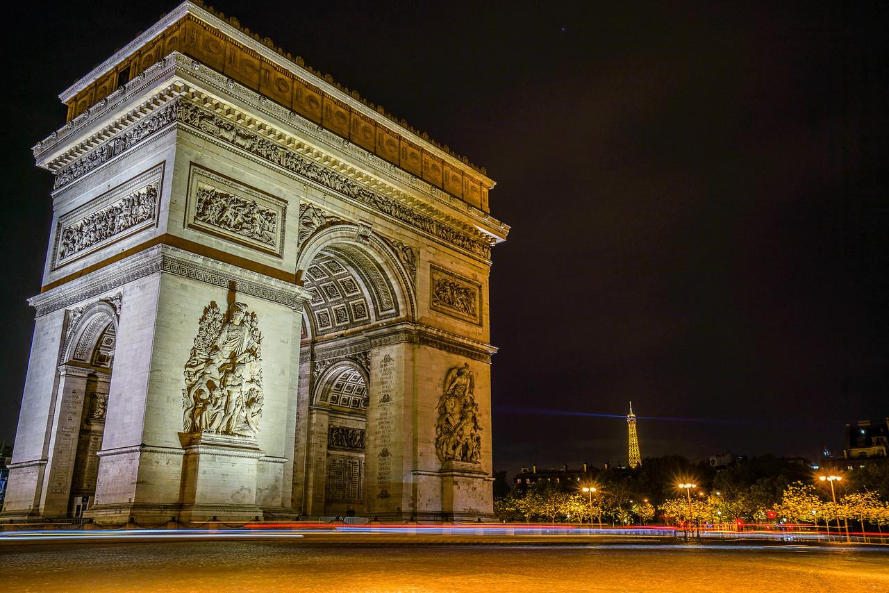 Arc and the Eiffel