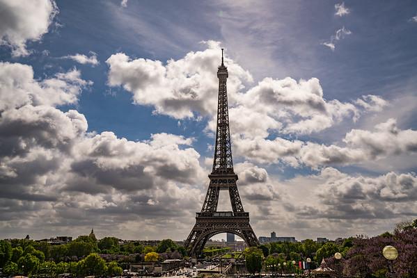 Eiffel in the Sun