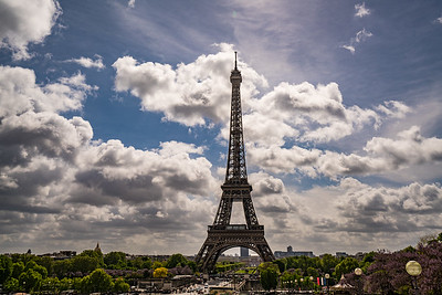 Eiffel in the Sun