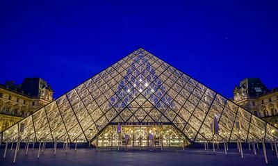 Entree' Du Louvre