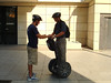 More instruction on how to operate the Segway