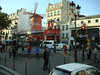 Across the street from the Moulin Rouge dinner theatre