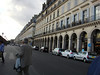 This is a photo of Rue de Rivoli.  Just to the left is the Tuileries Garden and the Louvre.