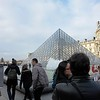 Louvre: When purchasing a ticket via Internet for a scheduled admission time, you don't have to wait here.