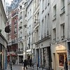 Small street in the Quartier latin.