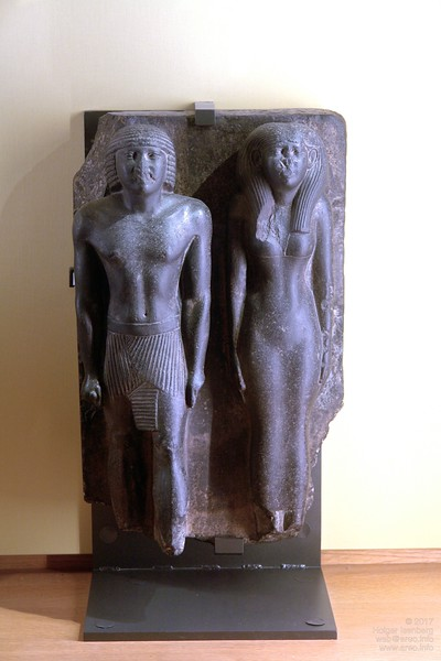 Idealistic perfect body shapes of pre-Akhenaten style.