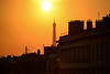 It's getting late in the afternoon on this October 3rd fall day in Paris.  This is the view from my bathroom window......yes, I used a telephoto lens......but you get the picture, don't you?  I thought I had died at gone to heaven or some other very pleasant place!!!  Oh, I did!  It's called Paris!!!!!!  :-)