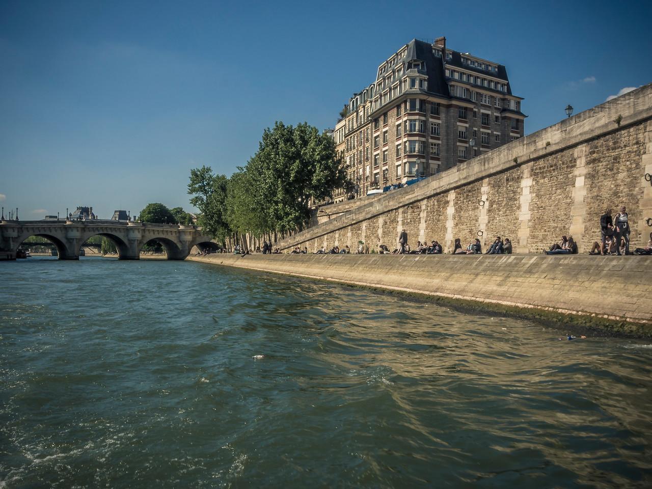 Pont Neuf and the River Seine Paris