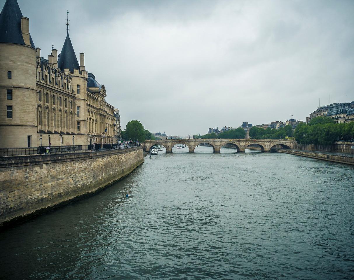 La Conciergerie on the Seine Paris and Pont Neuf