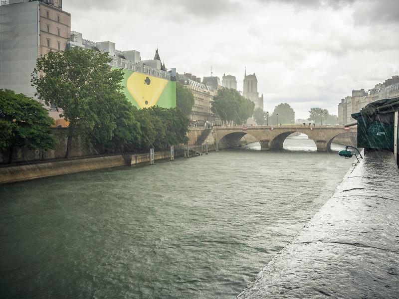 Pont Marie crossing the River Seine Paris