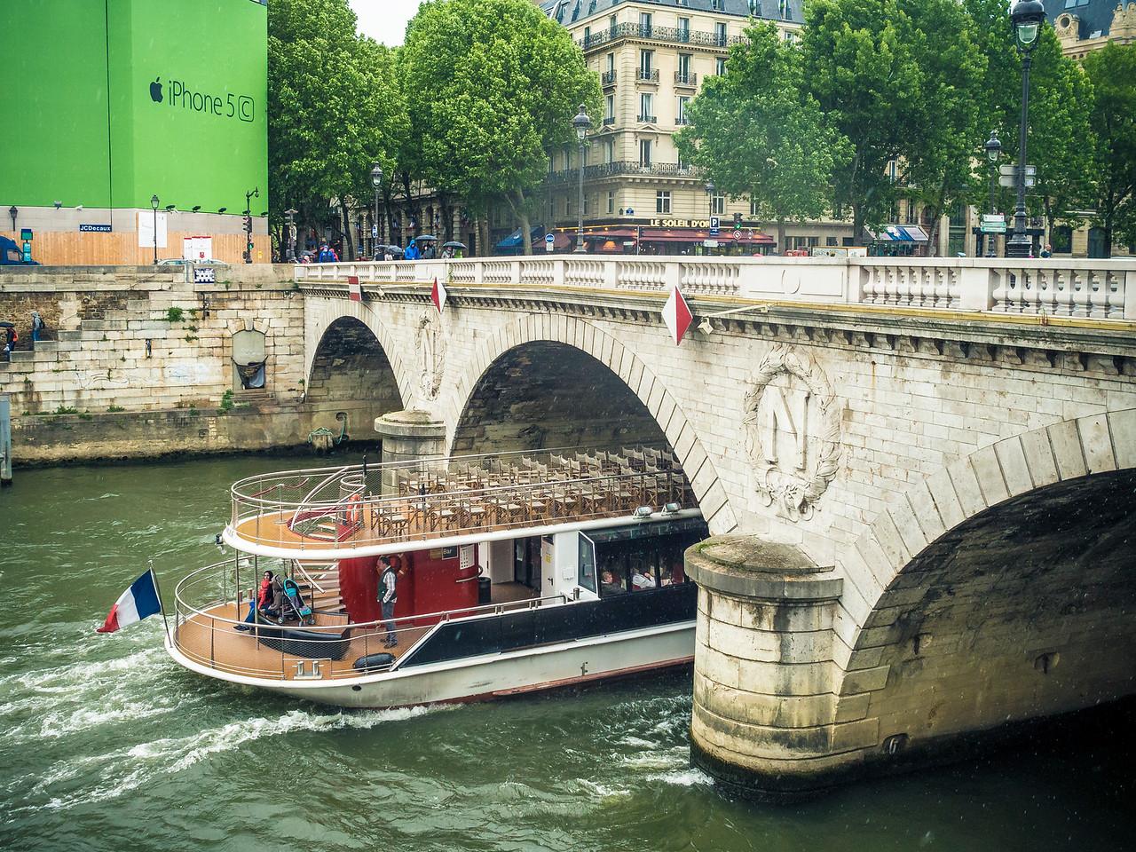 Pont Saint-Michel Paris