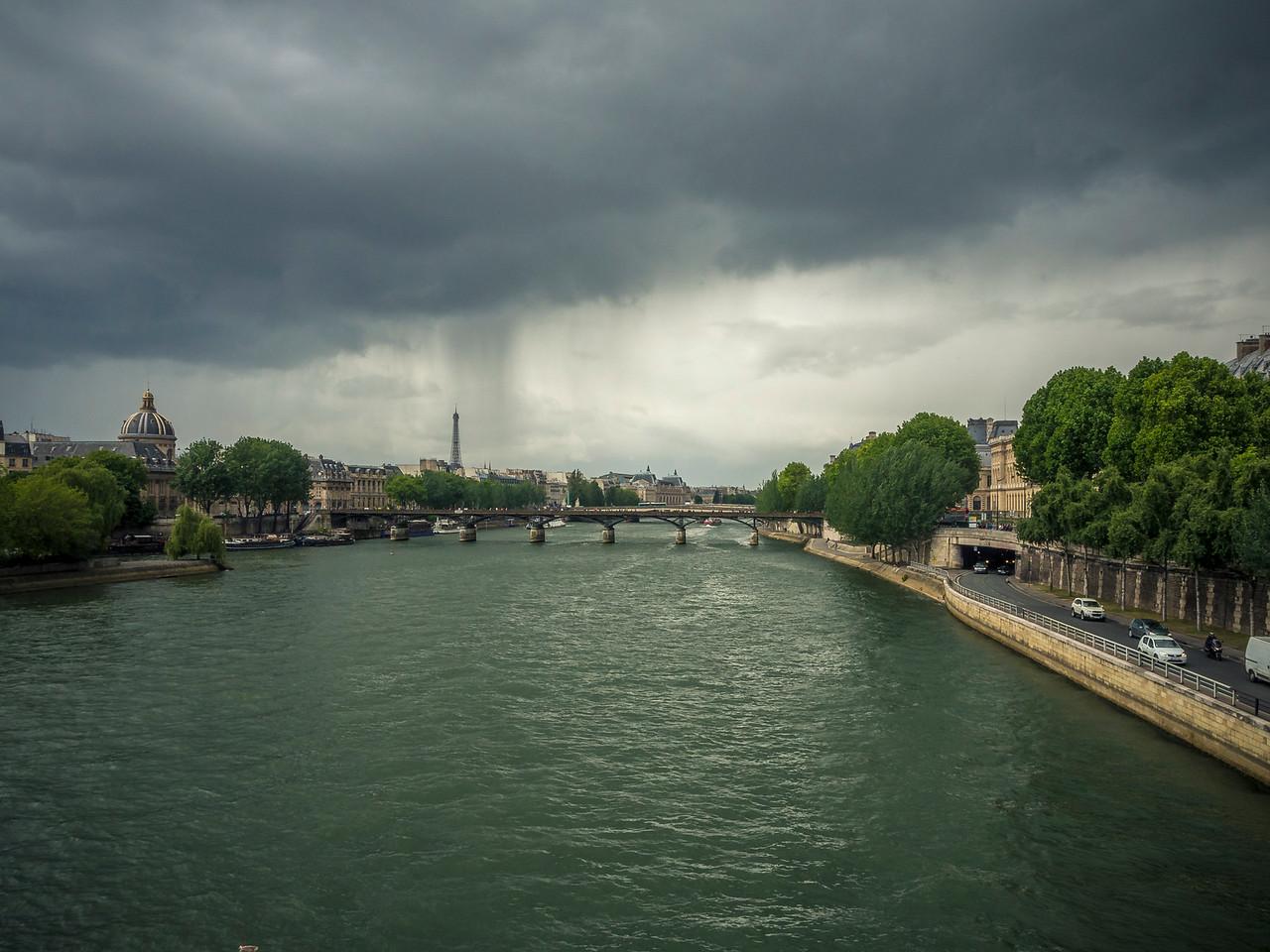 Pont des Arts crossing the River Seine Paris