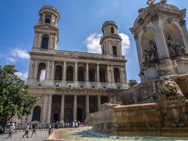 Saint Sulpice Cathedral Paris