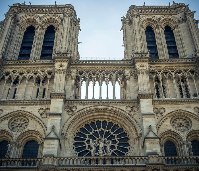 Notre Dame Cathedral Paris exterior