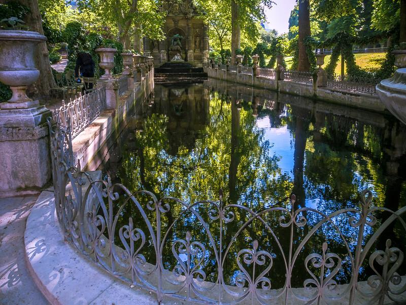 La Fontaine Medicis Luxembourg Gardens Paris