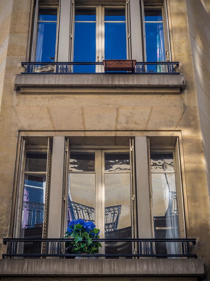 Paris apartment windows