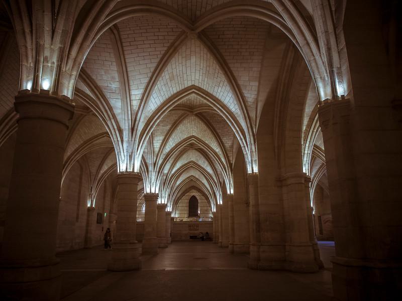 Conciergerie vaulted gothic arches Paris