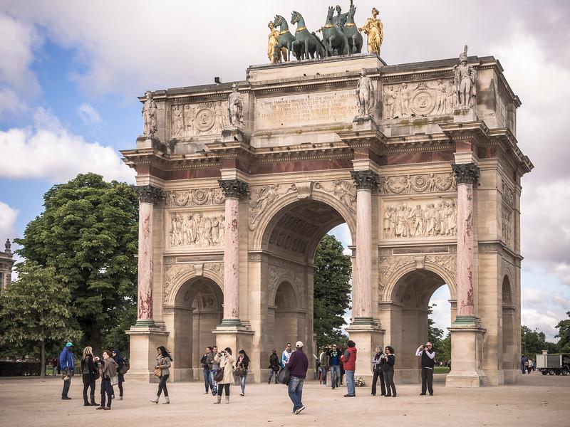 Arc de Triomphe du Carrousel Paris