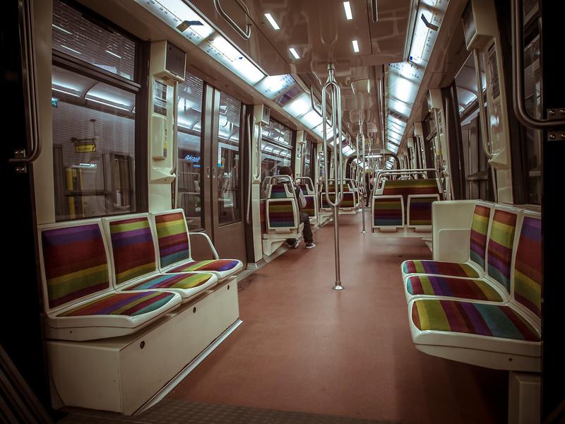 Paris metro photos