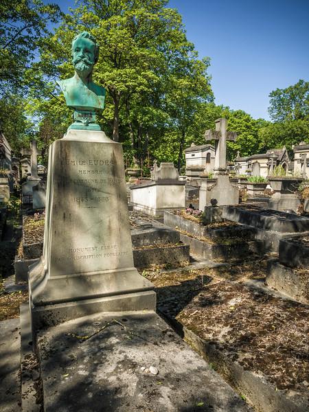 Pere Lachaisse Cemetery Paris