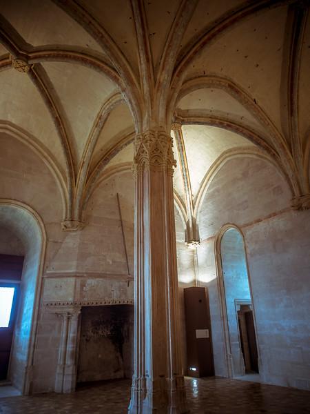 Vincennes Castle and chapel