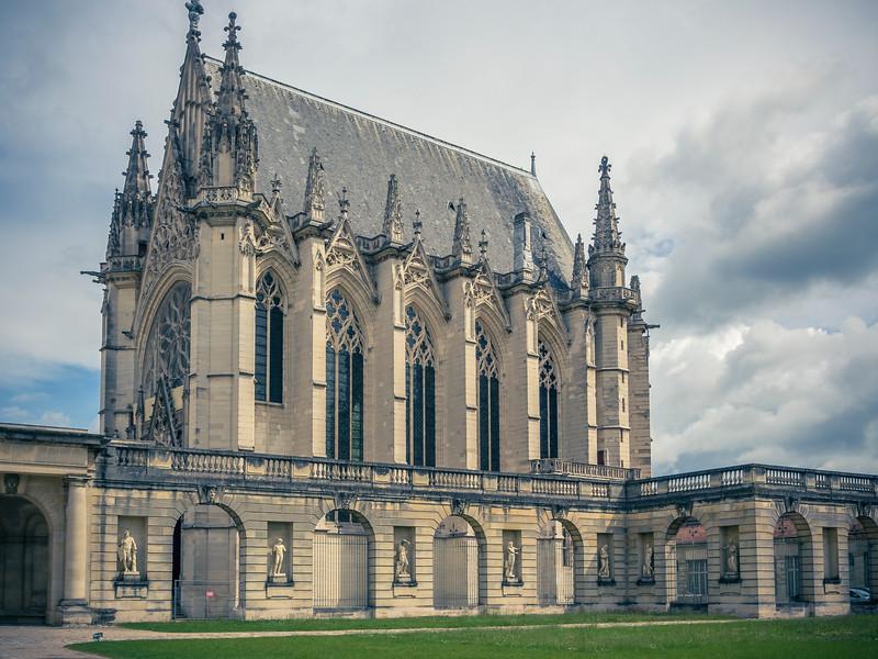 Vincennes holy chapel