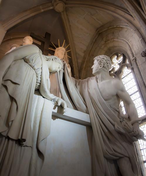 Memorial to Louis Antoine Nenri de Bourbon Conde