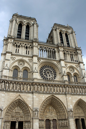 Paris Day 2 - Cathedrals and the Seine