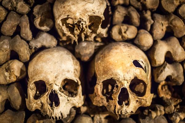 Paris' Catacombs