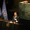 Hollywood Actor Leonardo DiCaprio speaking at the Inauguration of Paris agreement on 22nd April 2016...pic Mohammed Jaffer-SnapsIndia