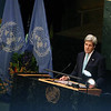 US Secretary of State John Kerry speaking   at UNGA on 22ns April 2016...pic Mohammed Jaffer-SnapsIndia