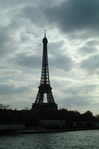 Cloudy Eiffel