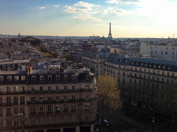 Over the rooftops of Paris