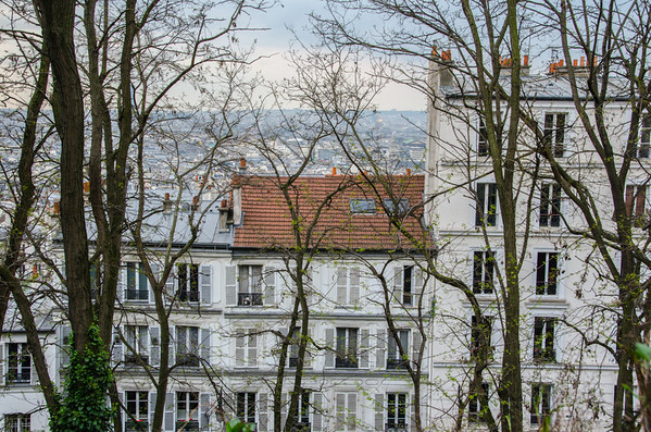 Rooftops of Monmartre, Paris