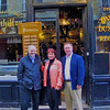 Steve, Teresa and Phil at Le Sergent Recruteur restaurant in Paris