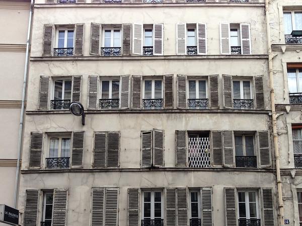 Windows of Montmartre, Paris