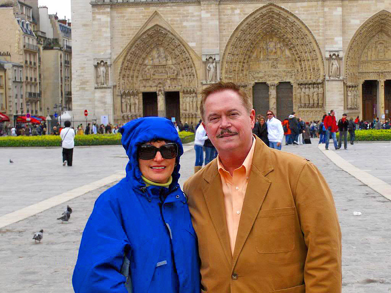 Teresa and Phil by Notre Dame