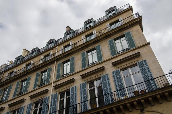 Lovely Paris windows