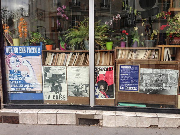 Revolutionary bookstore in Paris