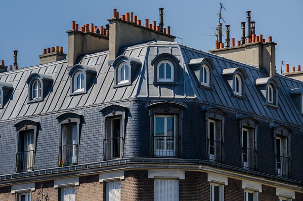 Paris Travel Inspiration: Lovely Rooftops, Windows & Doors