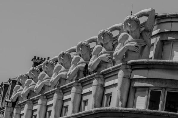 Unique Paris rooftops