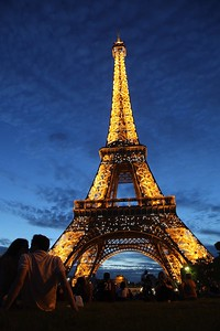 SEE THE EIFFEL TOWER GLOWING AT NIGHT. Grab a wine bottle right as the sun is about to set, sit on the grass, and watch as every hour the sparkling tower. Prepare to cry like I did. We sat next to some girls who were studying abroad there and we watched the tower from 8pm-midnight.
