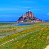 Mont Saint-Michel in Normandy, France