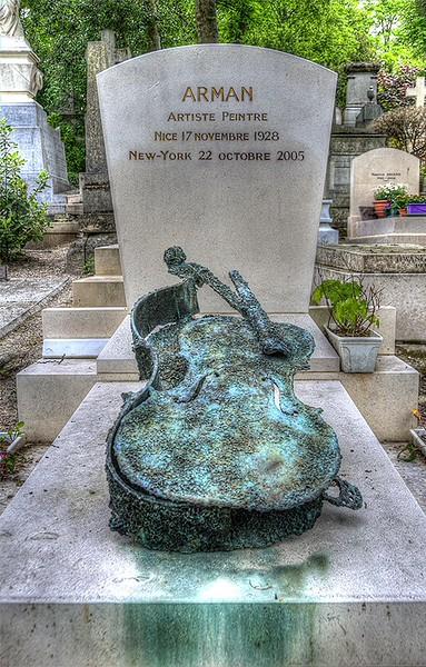 Arman Pere Lachaise Cemetery