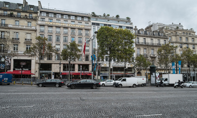 McDonald's on the Champs Elysees is their largest store in Paris.