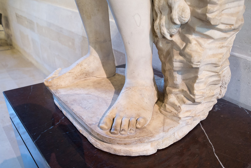 Ever notice that Greek and Roman statues feature Roman toes?