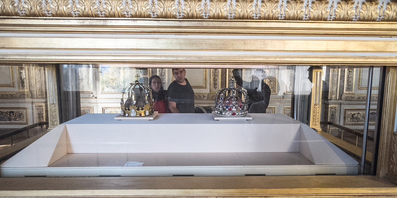 The crown of the last of the French Kings.