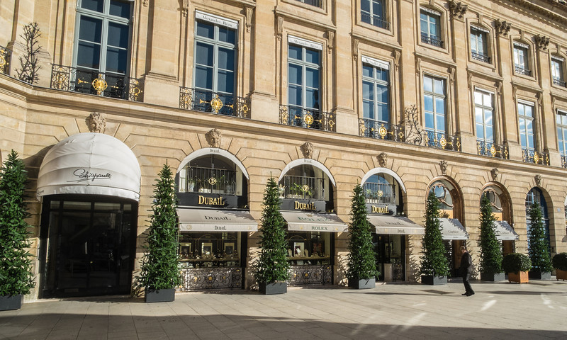 This building at 1 Place Vendome served as the Embassy of the Republic of Texas to the Republic of France from 1842-1843.