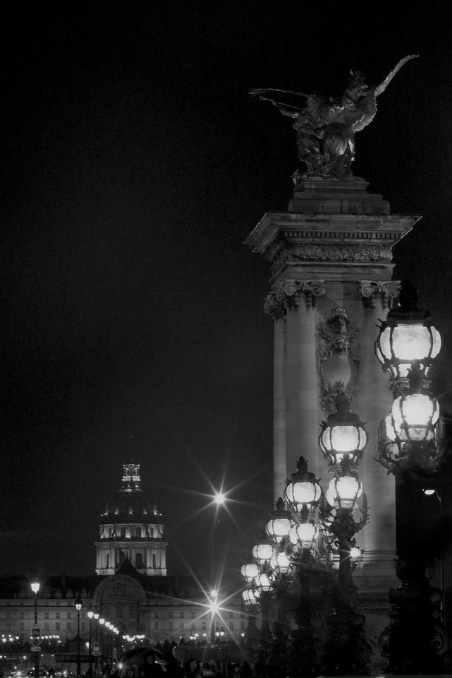 Pont Alexandre<br /> Paris<br /> 2013