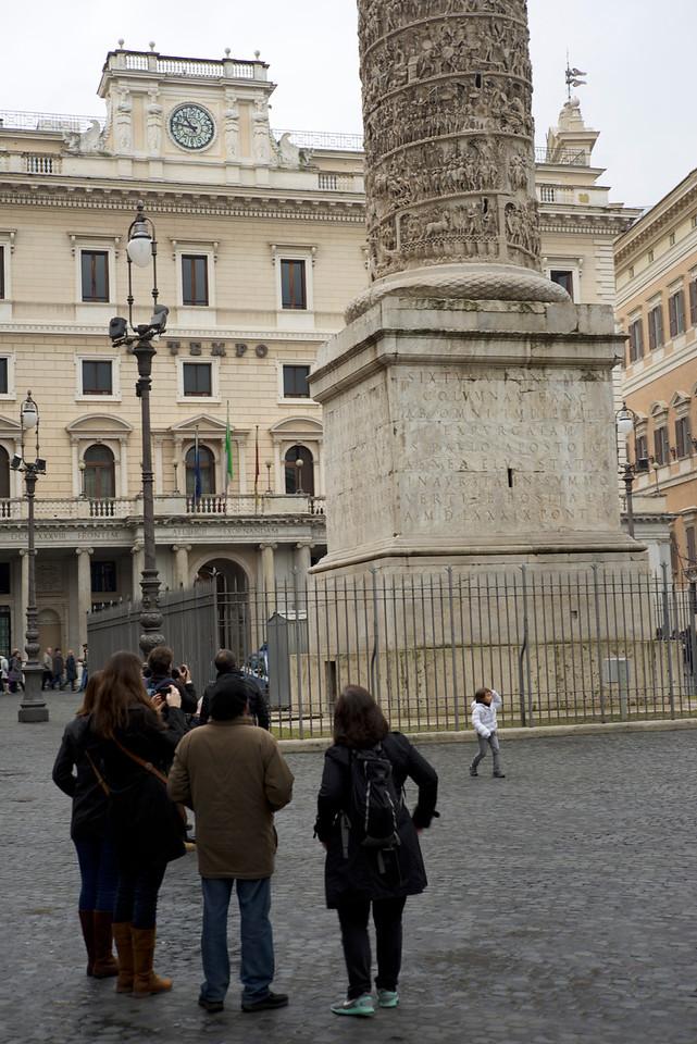 Monument to Marcus Arelius